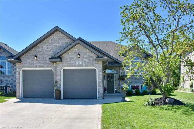 80 St Andrews Drive, Meaford, ON N4L 0A2 (MLS #40132295) :: Forest Hill Real Estate Collingwood