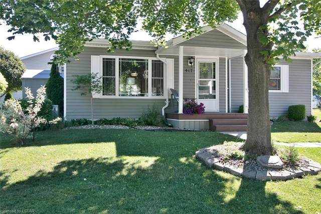 417 Shannon Boulevard, Grand Bend, ON N0M 1T0 (MLS #40133186) :: Forest Hill Real Estate Collingwood