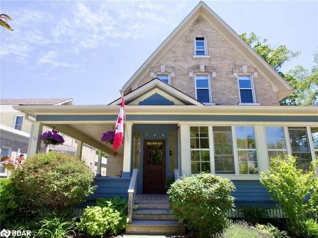 749 Princes Street N, Kincardine, ON N2Z 1Z5 (MLS #40137545) :: Forest Hill Real Estate Collingwood