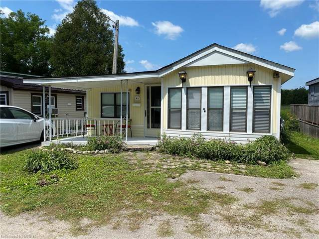 4838 Pioneer Trail #43, Puslinch, ON N0B 2J0 (MLS #40137772) :: Forest Hill Real Estate Collingwood