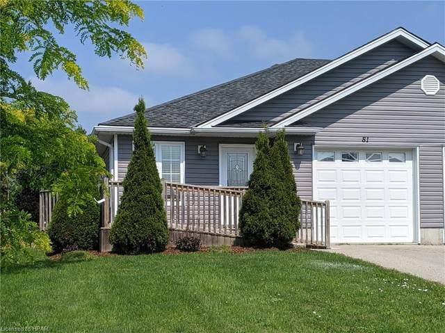 81 Coleman Street, Seaforth, ON N0K 1W0 (MLS #40138438) :: Forest Hill Real Estate Collingwood