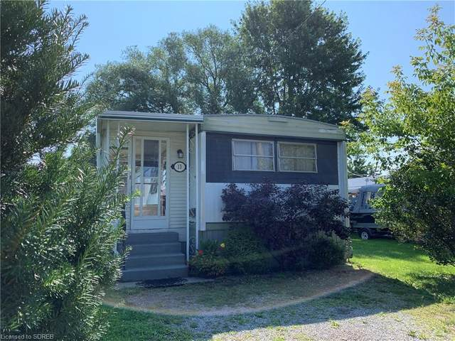 13 Clayton Street, Port Dover, ON N0A 1N7 (MLS #40143652) :: Forest Hill Real Estate Collingwood