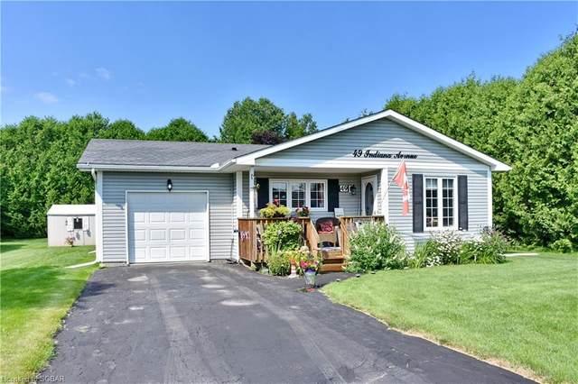 49 Indiana Avenue, Wasaga Beach, ON L9Z 3A8 (MLS #40145040) :: Envelope Real Estate Brokerage Inc.