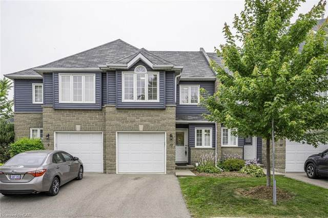 199 Saginaw Parkway #10, Cambridge, ON N1T 1T9 (MLS #40145041) :: Forest Hill Real Estate Collingwood