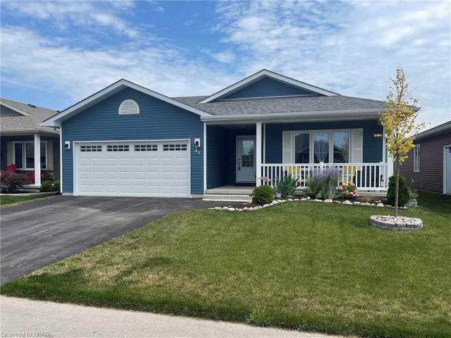 45 Huron Heights Drive, Ashfield-Colborne-Wawanosh, ON N7A 0B9 (MLS #40145732) :: Forest Hill Real Estate Collingwood