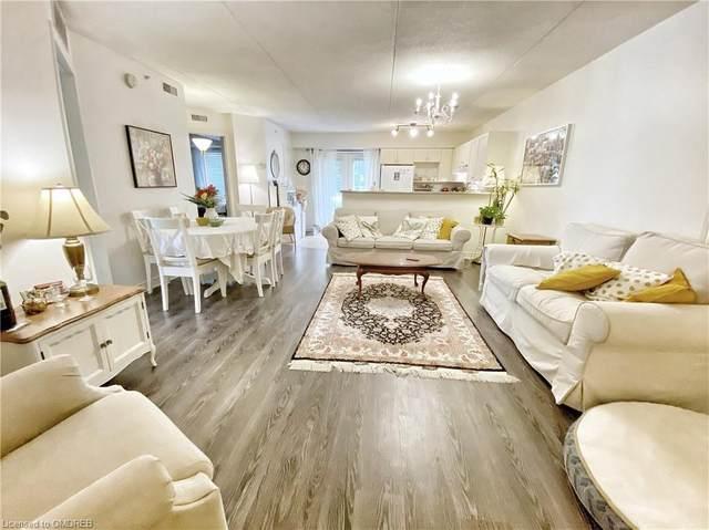 4005 Kilmer Drive #111, Burlington, ON L7M 4M2 (MLS #40146054) :: Forest Hill Real Estate Collingwood