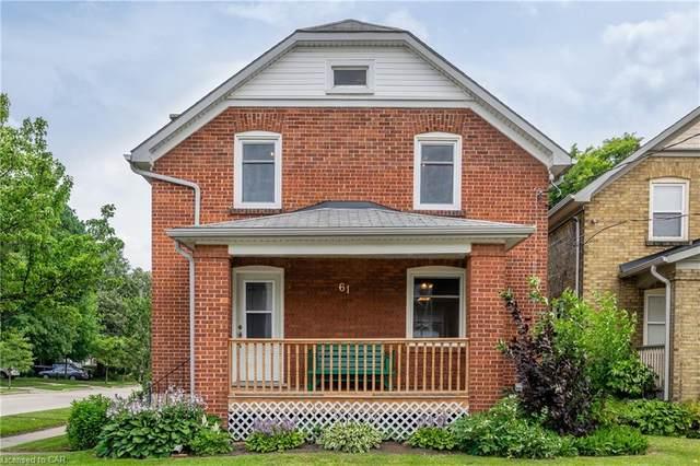 61 Laurel Street, Waterloo, ON N2J 2H3 (MLS #40146871) :: Forest Hill Real Estate Collingwood