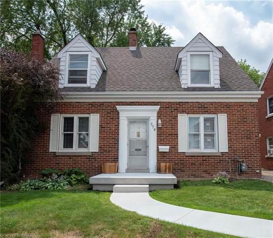 279 Weber Street E, Kitchener, ON N2H 1E9 (MLS #40146877) :: Forest Hill Real Estate Collingwood