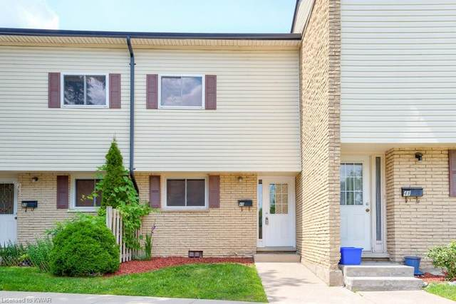 211 Veronica Drive #49, Kitchener, ON N2A 2R8 (MLS #40147120) :: Forest Hill Real Estate Collingwood
