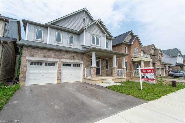 9 Fleming Crescent, Caledonia, ON N3W 1E1 (MLS #40147169) :: Forest Hill Real Estate Collingwood