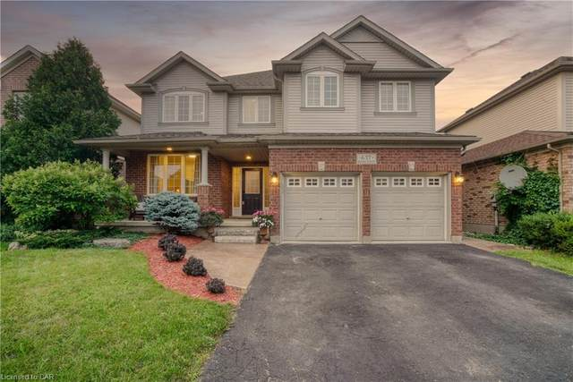 637 Bluenose Crescent, Waterloo, ON N2K 4H4 (MLS #40147196) :: Forest Hill Real Estate Collingwood