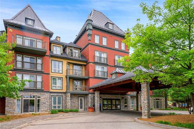 156 Jozo Weider Boulevard #207, The Blue Mountains, ON L9Y 0V2 (MLS #40147816) :: Forest Hill Real Estate Collingwood