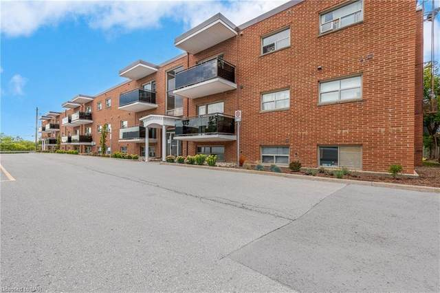 264 Oakdale Avenue #208, St. Catharines, ON L2P 2K4 (MLS #40147839) :: Forest Hill Real Estate Collingwood
