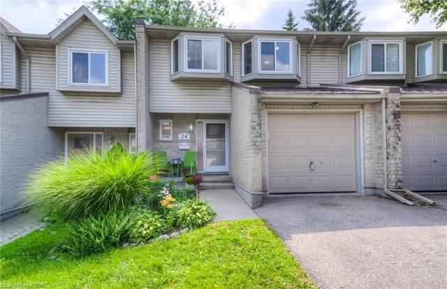 20 Paulander Dr. Drive #24, Kitchener, ON N2M 5L3 (MLS #40148088) :: Forest Hill Real Estate Collingwood