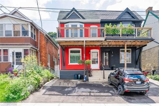 27 Peter Street, Kitchener, ON N2G 3J5 (MLS #40148392) :: Forest Hill Real Estate Collingwood