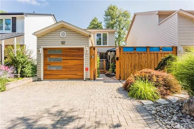 144 Four Oaks Crescent, London, ON N6J 4B7 (MLS #40148501) :: Forest Hill Real Estate Collingwood