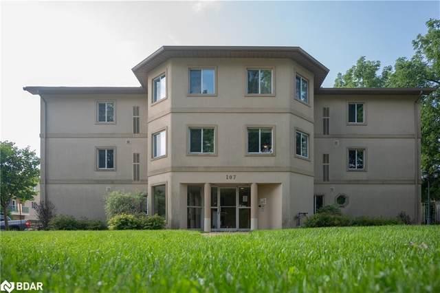 107 Bond Street #202, Orillia, ON L3V 1J7 (MLS #40149325) :: Forest Hill Real Estate Collingwood