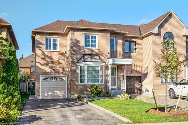 107 Giraffe Avenue, Brampton, ON L6R 1Z2 (MLS #40149850) :: Forest Hill Real Estate Collingwood