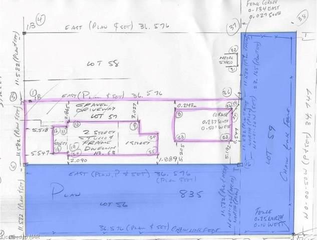 LOT 56 & 59 Dolphin Street, Port Colborne, ON L3K 2J4 (MLS #40162617) :: Envelope Real Estate Brokerage Inc.