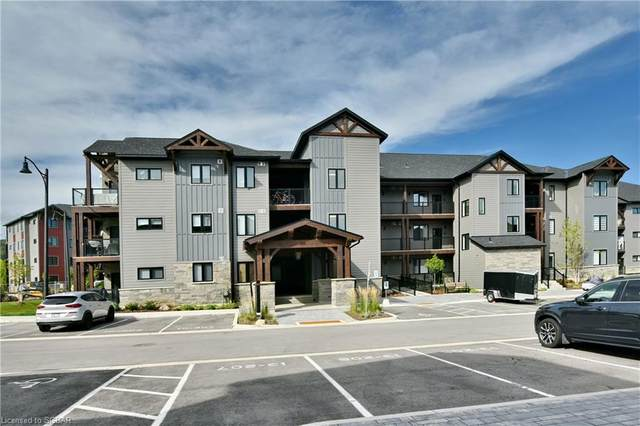 10 Beausoleil Lane #305, Town Of Blue Mountains, ON L9Y 2X5 (MLS #40163952) :: Forest Hill Real Estate Collingwood