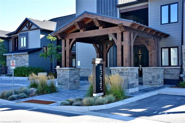 11 Beausoleil Lane #202, Blue Mountain, ON L9Y 0H2 (MLS #40166134) :: Envelope Real Estate Brokerage Inc.