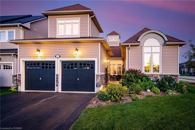 1 Silver Crescent, Collingwood, ON L9Y 0E9 (MLS #40167851) :: Forest Hill Real Estate Collingwood
