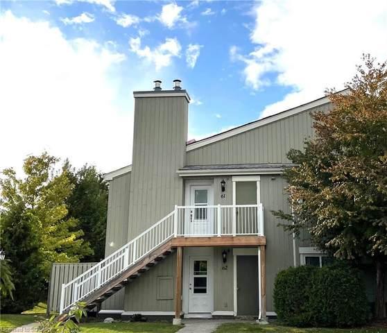 19 Dawson Drive #62, Collingwood, ON L9Y 5B4 (MLS #40168260) :: Forest Hill Real Estate Collingwood