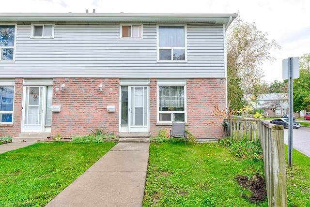 32 Mowat Boulevard #9, Kitchener, ON N2E 1X4 (MLS #40175669) :: Envelope Real Estate Brokerage Inc.