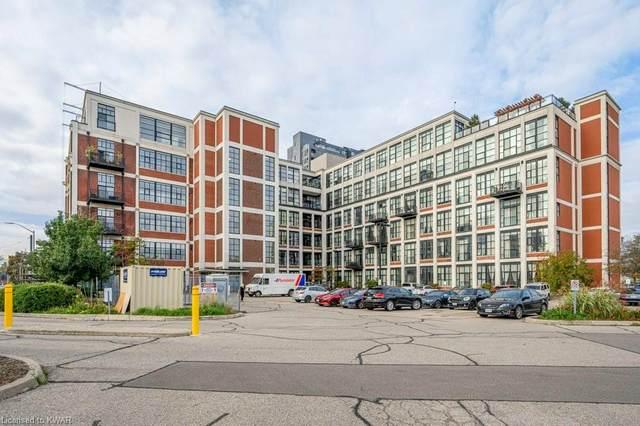 404 King Street W #509, Kitchener, ON N2G 2L5 (MLS #40175910) :: Envelope Real Estate Brokerage Inc.