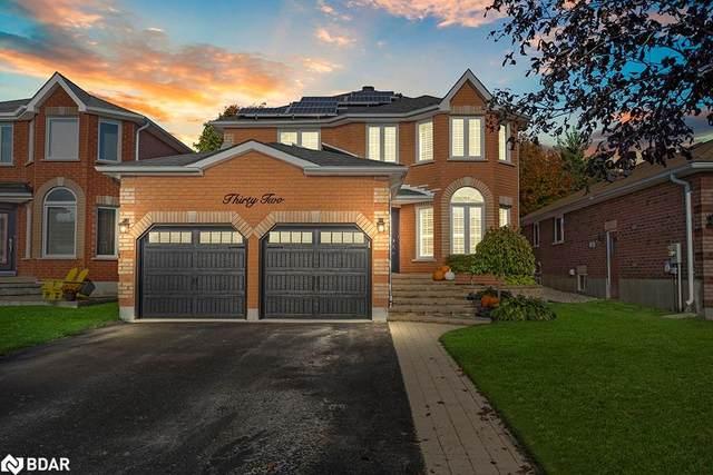 32 Felt Crescent, Barrie, ON L4N 8V1 (MLS #40176222) :: Forest Hill Real Estate Collingwood