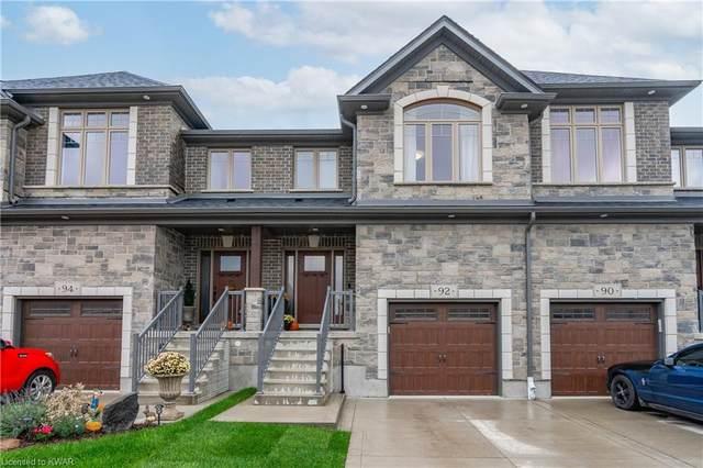 92 Hollybrook Trail, Kitchener, ON N2R 0M7 (MLS #40176642) :: Forest Hill Real Estate Collingwood