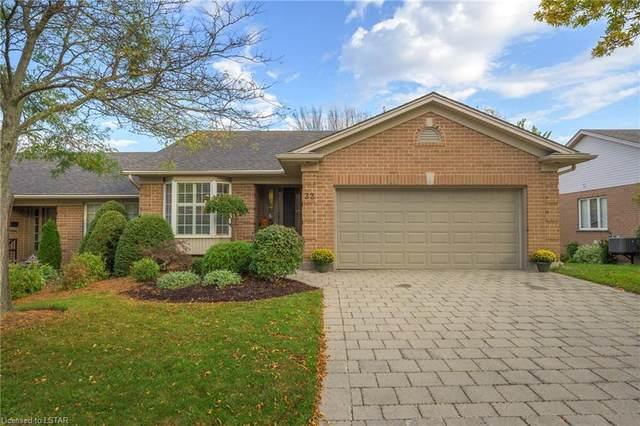 505 Cranbrook Road #32, London, ON N6K 4V9 (MLS #40177091) :: Forest Hill Real Estate Collingwood
