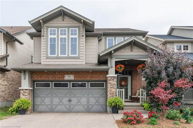 96 Helena Feasby Street, Kitchener, ON N2E 4L5 (MLS #40177314) :: Forest Hill Real Estate Collingwood