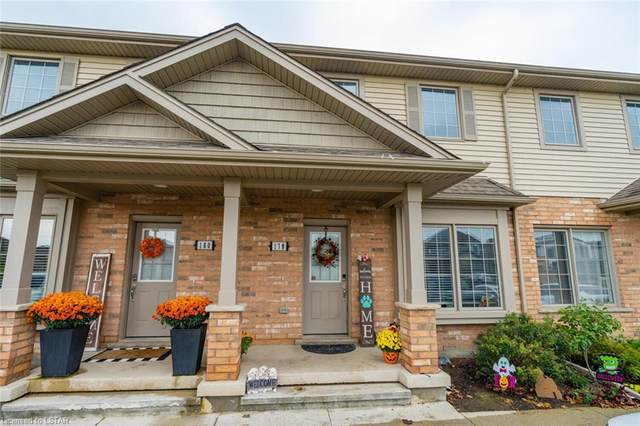 3320 Meadowgate Boulevard #178, London, ON N6M 0A7 (MLS #40177670) :: Forest Hill Real Estate Collingwood