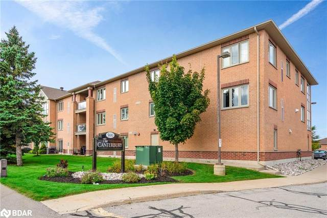 500 Mapleview Drive W #205, Barrie, ON L4M 4S7 (MLS #40177699) :: Forest Hill Real Estate Collingwood