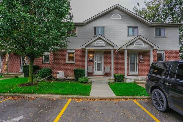 511 Admiral Drive #64, London, ON N5V 4R4 (MLS #40177737) :: Forest Hill Real Estate Collingwood