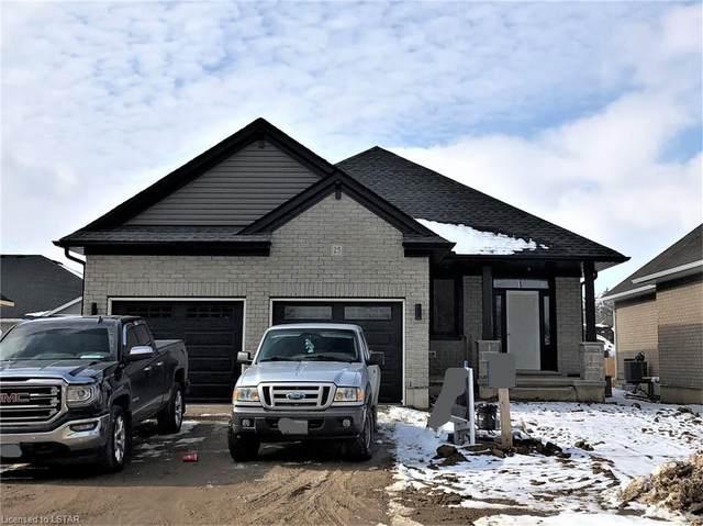 25 Lowrie Crescent, Tillsonburg, ON N4G 0H5 (MLS #242852) :: Sutton Group Envelope Real Estate Brokerage Inc.