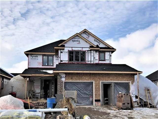 27 Lowrie Crescent, Tillsonburg, ON N4G 0H5 (MLS #243002) :: Sutton Group Envelope Real Estate Brokerage Inc.