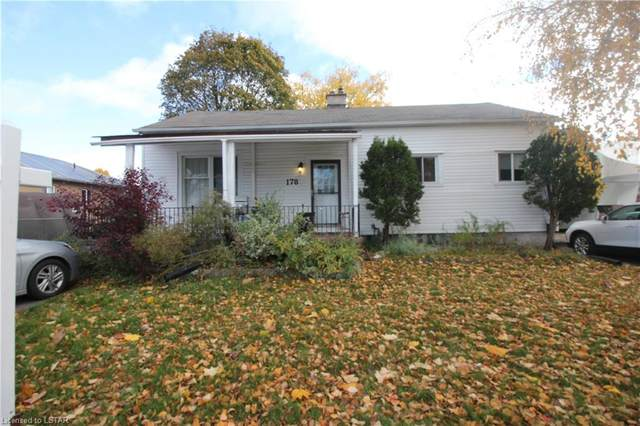 178 Mcnay Street, London, ON N5Y 1L3 (MLS #40037507) :: Forest Hill Real Estate Collingwood