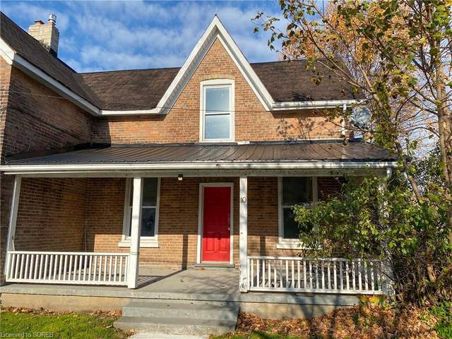 10 Chapman Street W, Port Dover, ON N0A 1N0 (MLS #40041317) :: Sutton Group Envelope Real Estate Brokerage Inc.