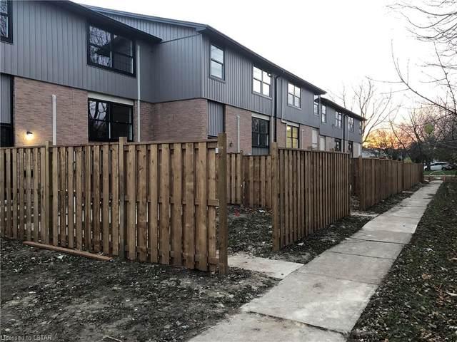 105 Andover Drive #24, London, ON N6J 4B1 (MLS #40042118) :: Sutton Group Envelope Real Estate Brokerage Inc.