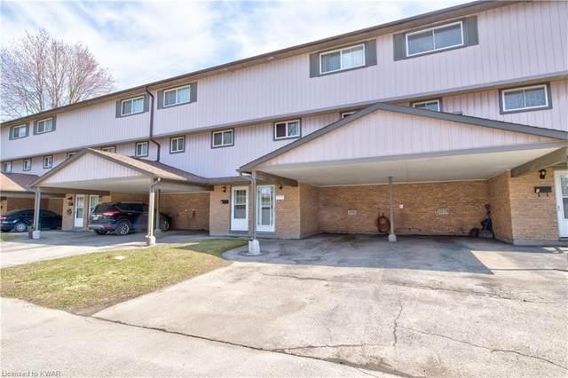 25 Thaler Avenue #5, Kitchener, ON N2A 1R3 (MLS #40095668) :: Envelope Real Estate Brokerage Inc.