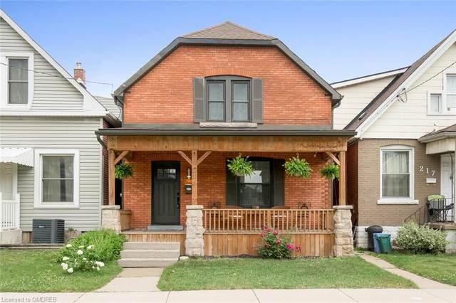 215 Rosslyn Avenue N, Hamilton, ON L8L 7P8 (MLS #40129979) :: Forest Hill Real Estate Collingwood