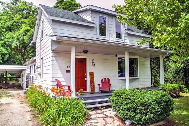 28 Owen Street, Meaford, ON N4L 1G9 (MLS #40142716) :: Forest Hill Real Estate Collingwood