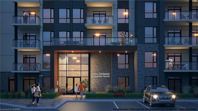 8-10 Harbour Street W #102, Collingwood, ON L9Y 5B4 (MLS #40153762) :: Envelope Real Estate Brokerage Inc.