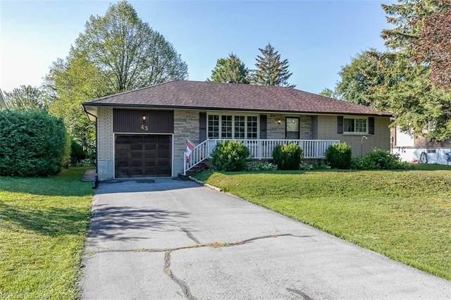 43 Francis Street W, Creemore, ON L0M 1G0 (MLS #40161330) :: Forest Hill Real Estate Collingwood