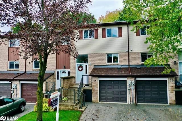 72 Adelaide Street #56, Barrie, ON L4N 3T5 (MLS #40165267) :: Envelope Real Estate Brokerage Inc.