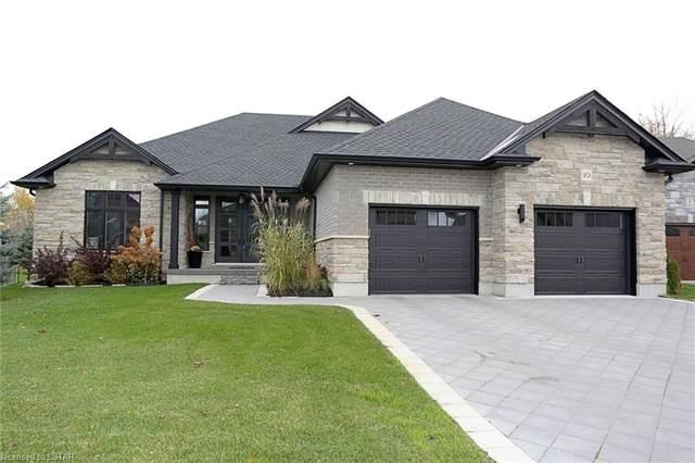 107 Quail Run Drive, Dorchester, ON N0L 1G3 (MLS #40041001) :: Sutton Group Envelope Real Estate Brokerage Inc.