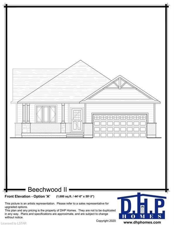 2 Cedar Terrace, Dorchester, ON N0L 1G3 (MLS #271262) :: Sutton Group Envelope Real Estate Brokerage Inc.