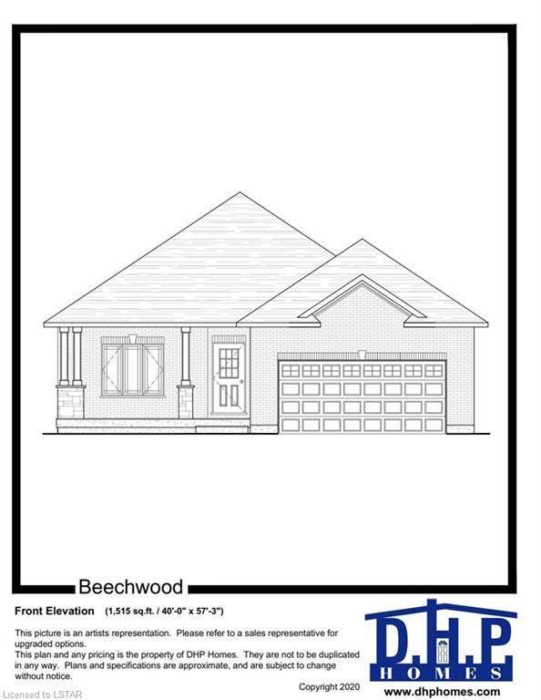 223 Boardwalk Way, Dorchester, ON N0L 1G0 (MLS #271613) :: Sutton Group Envelope Real Estate Brokerage Inc.